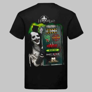 Camiseta VIP Horrorland 2018.